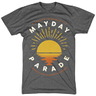 Mayday Parade - Sunsets (Dark Heather) [入荷予約商品]