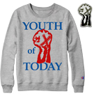 Youth Of Today - Oxford (Grey) (Sweat) + Enamel Pin (Limited) [入荷予約商品]