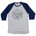 Circa Survive - Close Your Eyes (Heather Grey/Navy) (Baseball) [入荷予約商品]