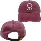 Hail The Sun - Logo (Burgundy) (Dad Hat) [入荷予約商品]