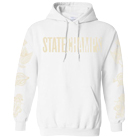 State Champs - Around The World And Back (White) (Hoodie) [入荷予約商品]