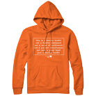 Desires - Message (Orange) (Hoodie) [入荷予約商品]