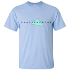 Shatterproof - Triangle Logo (Light Blue) [入荷予約商品]