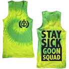 Stay Sick Clothing - Slimesquad (Green/Yellow Tie Dye) (Tank Top) [入荷予約商品]