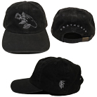 Fit For A King - Deathgrip (Pigment Dye Black) (Dad Hat) [入荷予約商品]