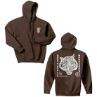 Fit For A King - Tiger (Brown) (Hoodie) [入荷予約商品]