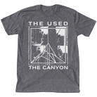 The Used - Canyon Band Photo (Heather Grey) [入荷予約商品]