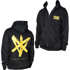 Eighteen Visions - XVIII (Gold Ink) (Zip Up Hoodie) [入荷予約商品]
