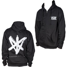 Eighteen Visions - XVIII (Silver Ink) (Zip Up Hoodie) [入荷予約商品]