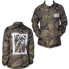 Eighteen Visions - Logo (Camo) (Windbreaker) [入荷予約商品]