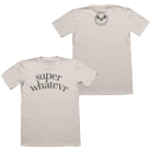 Super Whatevr - Text Logo (Natural) [入荷予約商品]