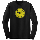 Super Whatevr - SUP Smiley (Long Sleeve) [入荷予約商品]