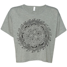 Whitechapel - Zen (Athletic Heather) (Flowy Tops) [girl's] [入荷予約商品]