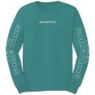 Movements - Feel Something (Teal) (Long Sleeve) [入荷予約商品]