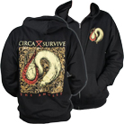 Circa Survive - The Amulet (Zip Up Hoodie) [入荷予約商品]