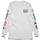 Neck Deep - In Bloom Icons (White) (Long Sleeve) [入荷予約商品]