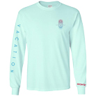 Seaway - Pineapple (Mint) (Long Sleeve) [入荷予約商品]
