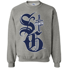 Saving Grace - Big SG (Heather Grey) (Sweat) [入荷予約商品]