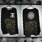 Reflections - Logo (Black & Camo) (Long Sleeve) [入荷予約商品]