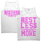 Restless Streets - Rest Less Pink (Tank Top) [入荷予約商品]