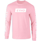 Eat Your Heart Out - Logo (Pink) (Long Sleeve) [入荷予約商品]
