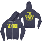 The Wonder Years - WNDR Logo (Navy) (Zip Up Hoodie) [入荷予約商品]