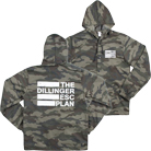 The Dillinger Escape Plan - Logo (Camo) (Jacket) [入荷予約商品]