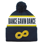 Dance Gavin Dance - Mothership (Navy/Yellow) (Pom Beanie) [入荷予約商品]
