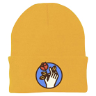 Fit For A King - Deathgrip Watermark (Gold) (Beanie) [入荷予約商品]