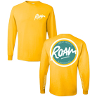 Roam - Logo Island (Yellow) (Long Sleeve) [入荷予約商品]
