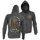 August Burns Red - Phantom Anthem (Heather Grey) (Zip Up Hoodie) [入荷予約商品]