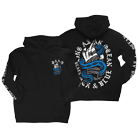 Being As An Ocean - Black & Blue (Hoodie) [入荷予約商品]