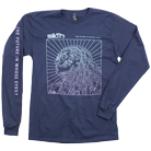 SikTh - Gradient (Navy) (Long Sleeve) [入荷予約商品]