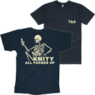 The Amity Affliction - AFU (Navy) [入荷予約商品]