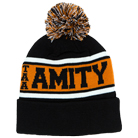 The Amity Affliction - AMITY (Black/Orange) (Beanie) [入荷予約商品]