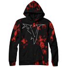 Veil of Maya - V Logo (Red/Black Dye) (Limited) (Hoodie) [入荷予約商品]