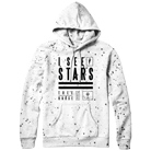 I See Stars - Stacked (White/Black Splatter Custom Dye) (Hoodie) [入荷予約商品]