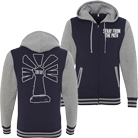 Stray From the Path - Varsity (Navy/Heather Grey) (Hoodie) [入荷予約商品]