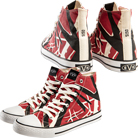 Eddie Van Halen - EVH (Red) (High Top Shoes) [入荷予約商品]
