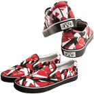 Eddie Van Halen - EVH (Red) (Slip-On Shoes) [入荷予約商品]