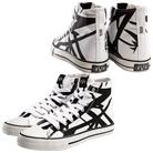 Eddie Van Halen - EVH (White) (High Top Shoes) [入荷予約商品]