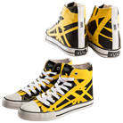Eddie Van Halen - EVH (Yellow) (High Top Shoes) [入荷予約商品]