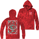 Erra - Balance Splatter (Red Acid Washed) (Hoodie) [入荷予約商品]