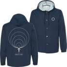 Animals As Leaders - Waves (Navy Blue) (Windbreaker) [入荷予約商品]