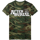 After The Burial - Logo (Camo) [入荷予約商品]