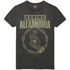 Asking Alexandria - Aces (Black Vintage Wash) [入荷予約商品]