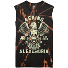 Asking Alexandria - Eagle Skull (Bleach Dye) (Sleeveless) [入荷予約商品]