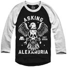 Asking Alexandria - Eagle Skull (Baseball) [入荷予約商品]