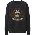 Asking Alexandria - Vintage Eagle (Charcoal Heather) (Sweat) [入荷予約商品]