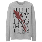 Betraying The Martyrs - Blood Swipe (Heather Grey) (Sweat) [入荷予約商品]